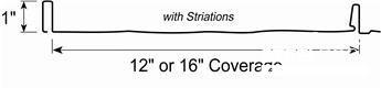 Striations Panel Profile