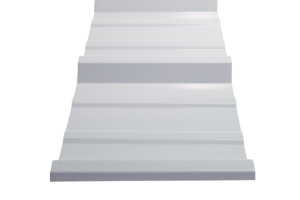 White Metal Roofing Panels