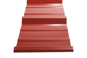 Rustic Red Roof Panels